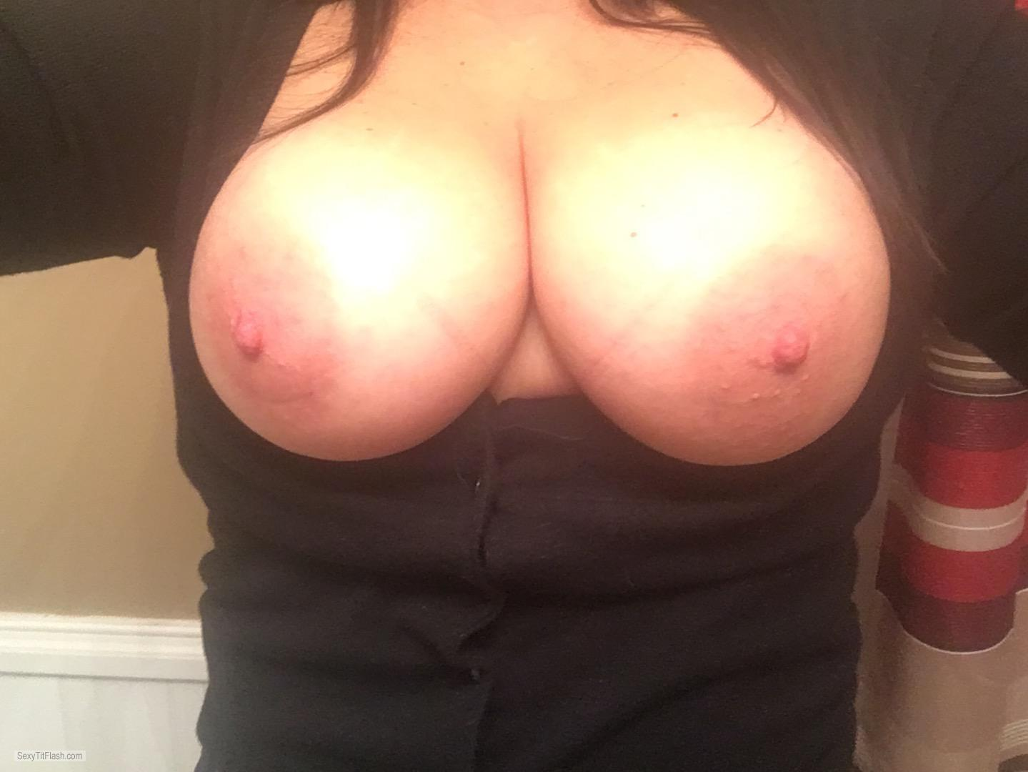 Big Tits Of My Wife Selfie by Shannon